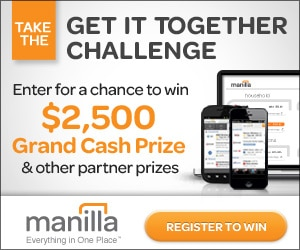 Organize Your Finances and Have a Chance to Win $2500 {Win-Win!}
