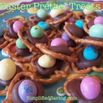 Easter Pretzel Treats {Takes Less Than 5 Minutes to Make!}