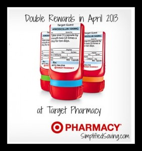 Double Rewards from Target Pharmacy | SimplifiedSaving.com via @lisajoythompson