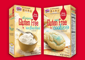 Betty Crocker Gluten Free Cookie Mix and Rice Flour