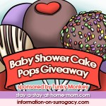 Baby Shower Cake Pops Giveaway