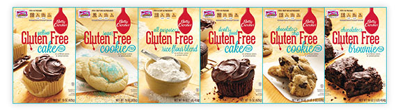 Betty Crocker Gluten-Free Baking Mixes (and a Baking Giveaway)
