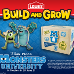 Monsters University is Coming to Lowe's Build and Grow Clinics