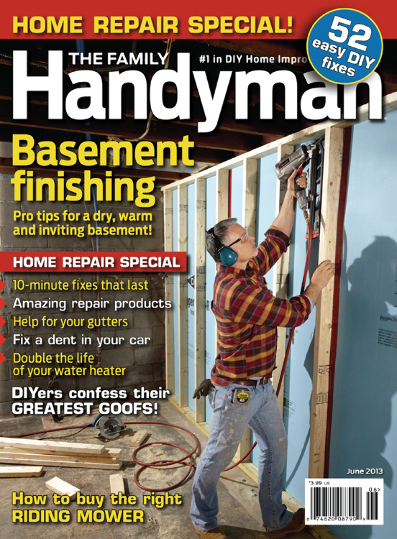 Family Handyman Subscription $5.99/Year