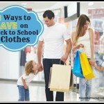 8 Ways to Save on Back to School Clothes