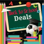 Back to School Deals {Week of July 14th}