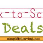 Back to School Deals {Week of 8/27/2013}