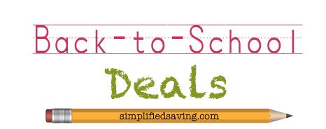 Back to School Deals {Week of 7/22/2013}