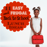 11 Easy and Frugal School Lunch Ideas