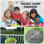 Sand Pudding in a Magic Bucket