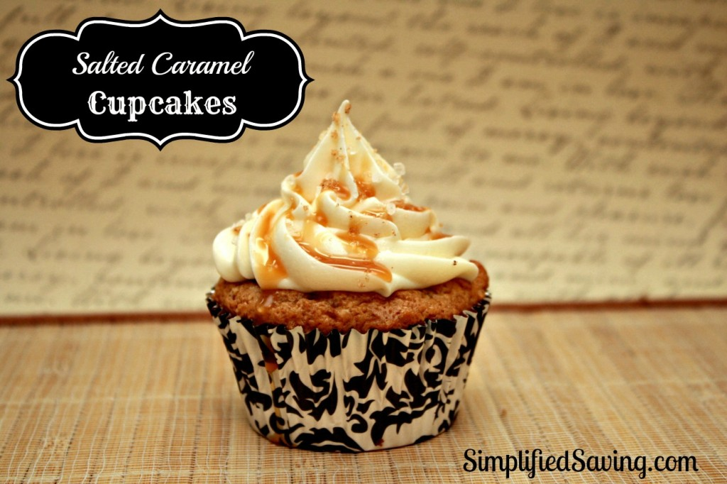Salted Caramel Cupcake Recipe