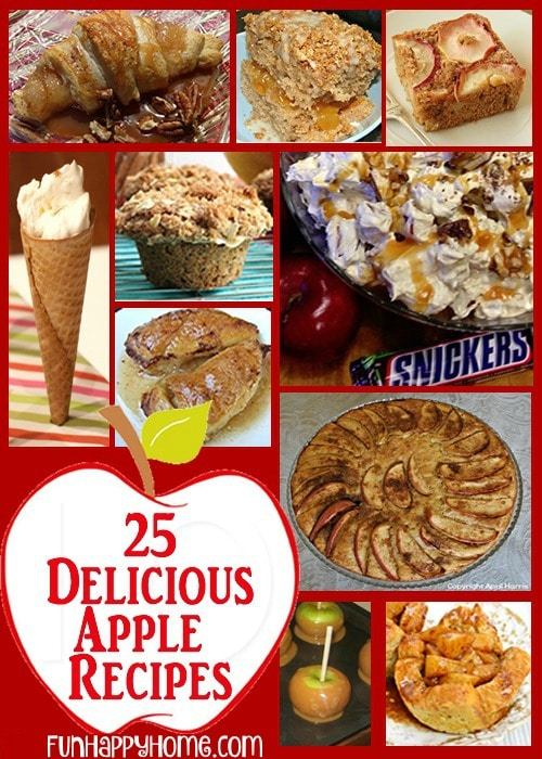 Delicious Apple Recipes, quick easy apple recipes, apple recipes fall