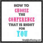 How to Choose the Right Conference