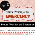 Preparing for an Emergency with the Proper Tools