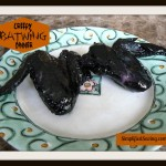 Creepy BatWings Dinner {Perfect for Halloween}