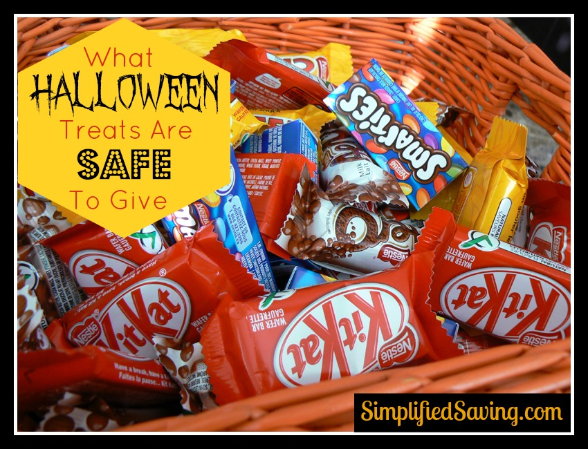 What Halloween Treats are Safe to Give