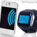 $29 for a Bluetooth watch with caller ID and a built-in microphone — USB charging cable included!