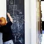 Peel-and-Stick Chalkboards $10 – Great for Holiday Menus, Kids' Art, and Chore Lists!