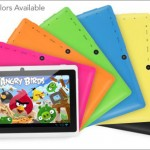 $69 for a 7-inch Google Android 4.1 tablet — choose from seven colors!