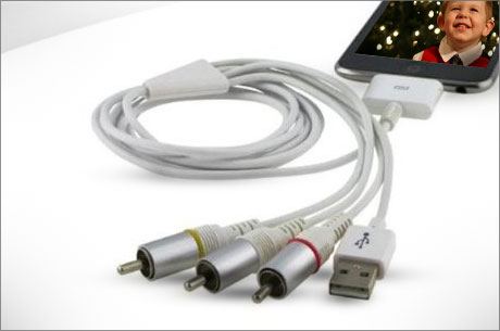 $10 for an iPhone/iPad Adapter for your TV