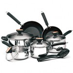 12-Pc: Paula Deen Cookware $79.99 (reg. $170)