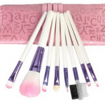 8 piece Makeup Brush Set for $3.80 Shipped