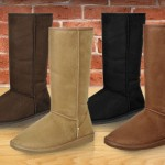 "$19 for a pair of tall ""Australian-inspired"" foldable boots — choose from 4 colors"
