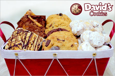 'Tis the season: $25 for $50 toward delicious cookies, cakes and more from David's Cookies