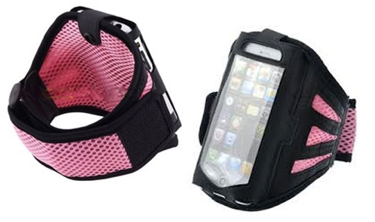 Durable, Lightweight Armband Case for iPhone 3/4/4s/5 Only $10