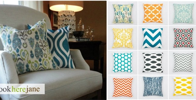 Pillow Covers $13.95 {Lots of Colors and Patterns to Choose From}