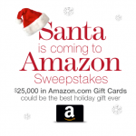 Win $25,000 in Amazon Gift Cards