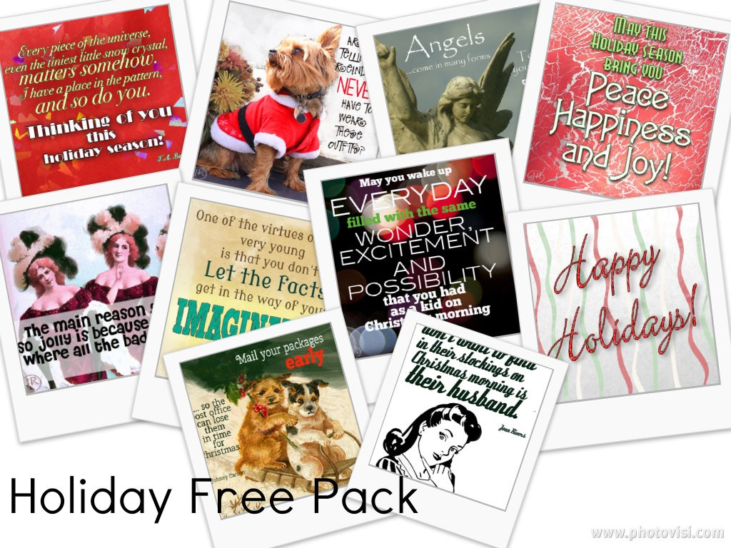 Free Holiday Graphics for Your Social Media Pages