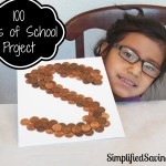 100 Days of School Project: Penny Art