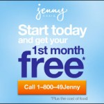 Jenny Craig: FREE 1st Month