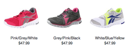 Reebok RealFlex Advance Training Shoe $47.99 (reg. $79.99)