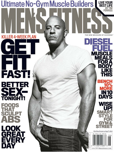 Men's Fitness Magazine Only $4.99 Per Year