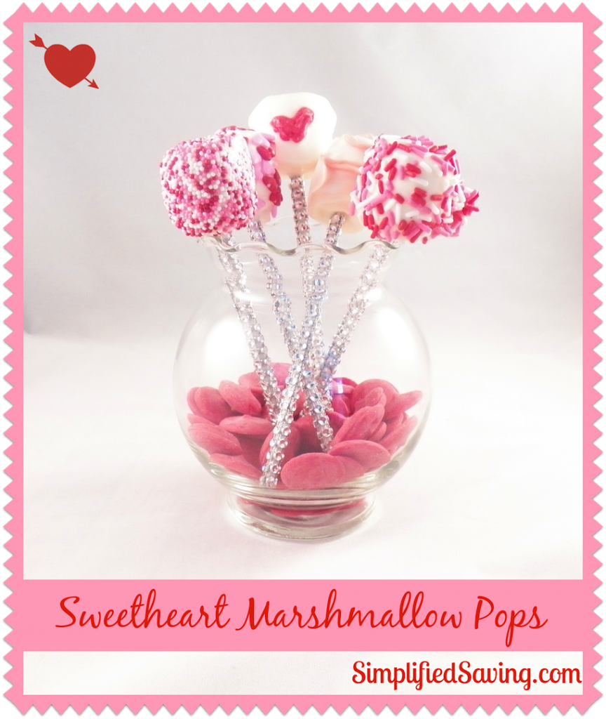 Sweetheart Marshmallow Pops {Perfect Last Minute Valentine's Day Treat}