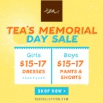 Tea Collection Memorial Day Sale