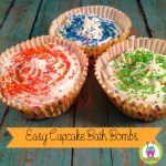 Easy Cupcake Bath Bombs: A DIY Gift Idea