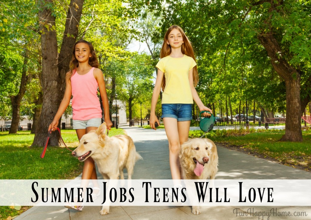 Dogwalking: One of Many Summer Jobs Teens Love