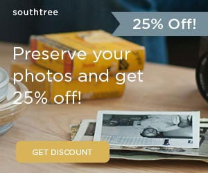 Preserve Your Memories and Save 25%