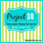 Project 38: My Goals for the Year