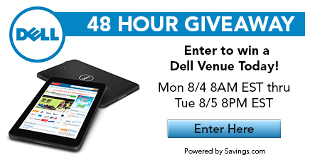 Dell 48 Hour Giveaway {Hurry & Enter!}