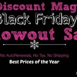Discount Mags Black Friday Blowout Sale
