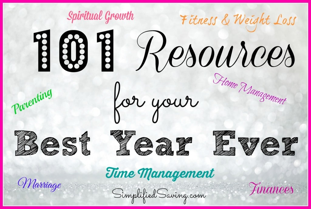 101 Resources for Your Best Year Ever