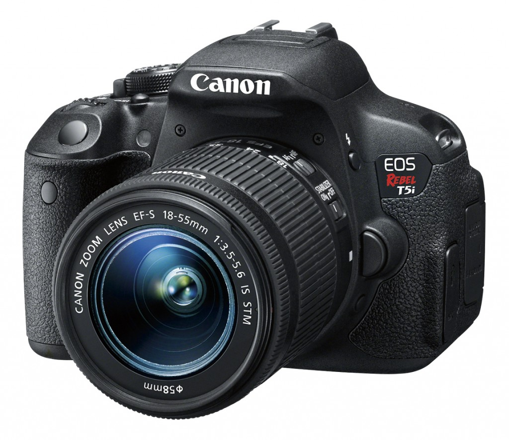 Get a Canon EOS Rebel T5i at Best Buy