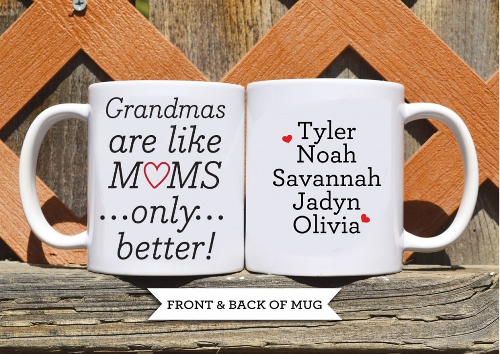 Cute Mugs for Grandparents