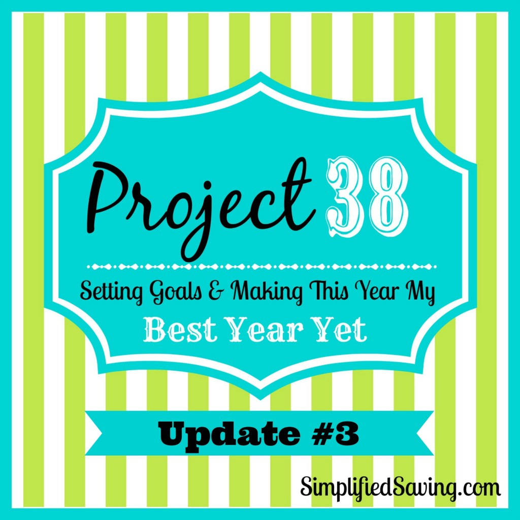 Project 38: Update #3