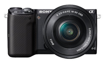 Sony NEX-5TL Compact Interchangeable Lens Digital Camera $299 (reg. $699)