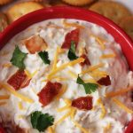 Gameday Bacon Ranch Cheddar Dip